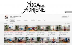 yoga with adriene  the indie yarn stasher