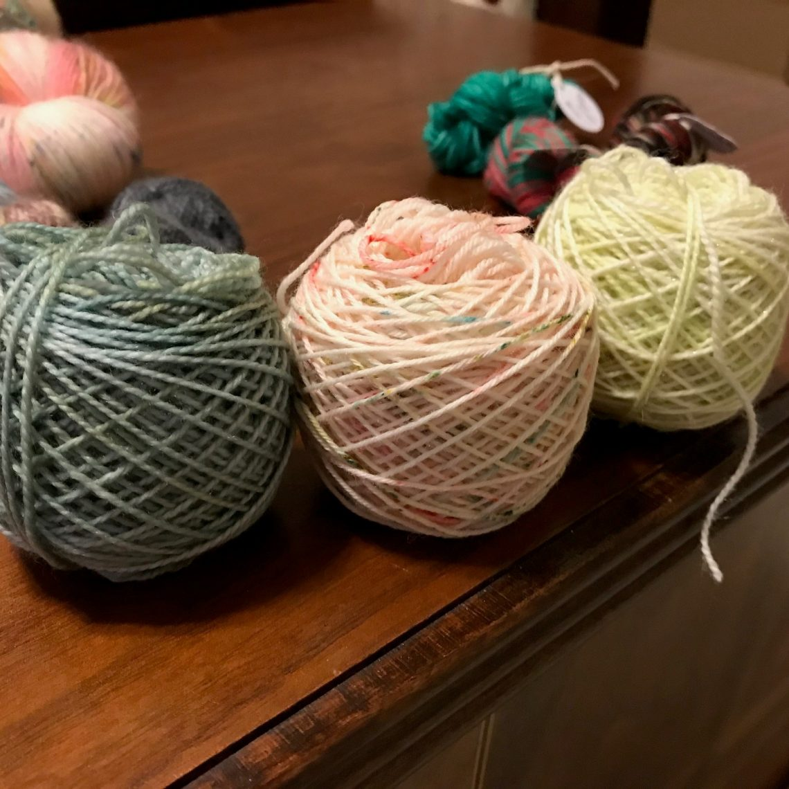 October House mini skeins