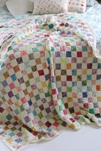 battenberg blanket crochet