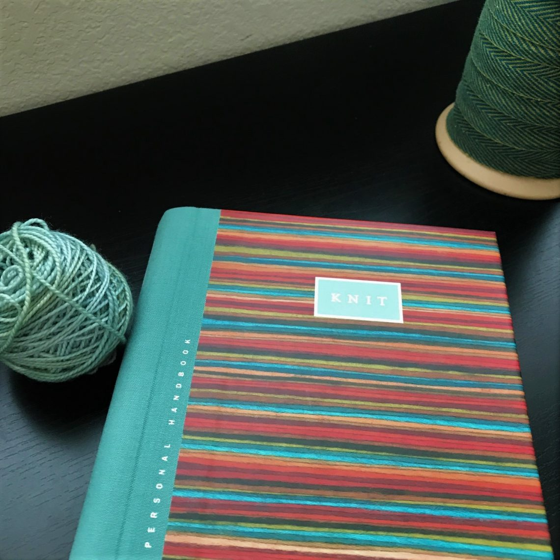knitting goals planner