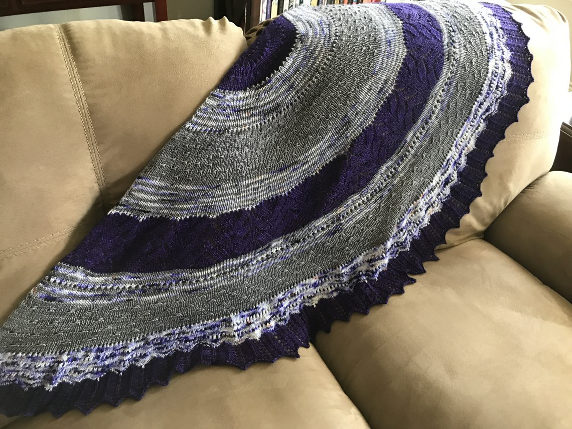 Stillness Shawl