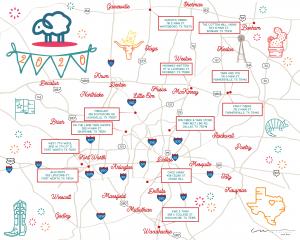 North Texas Yarn Crawl