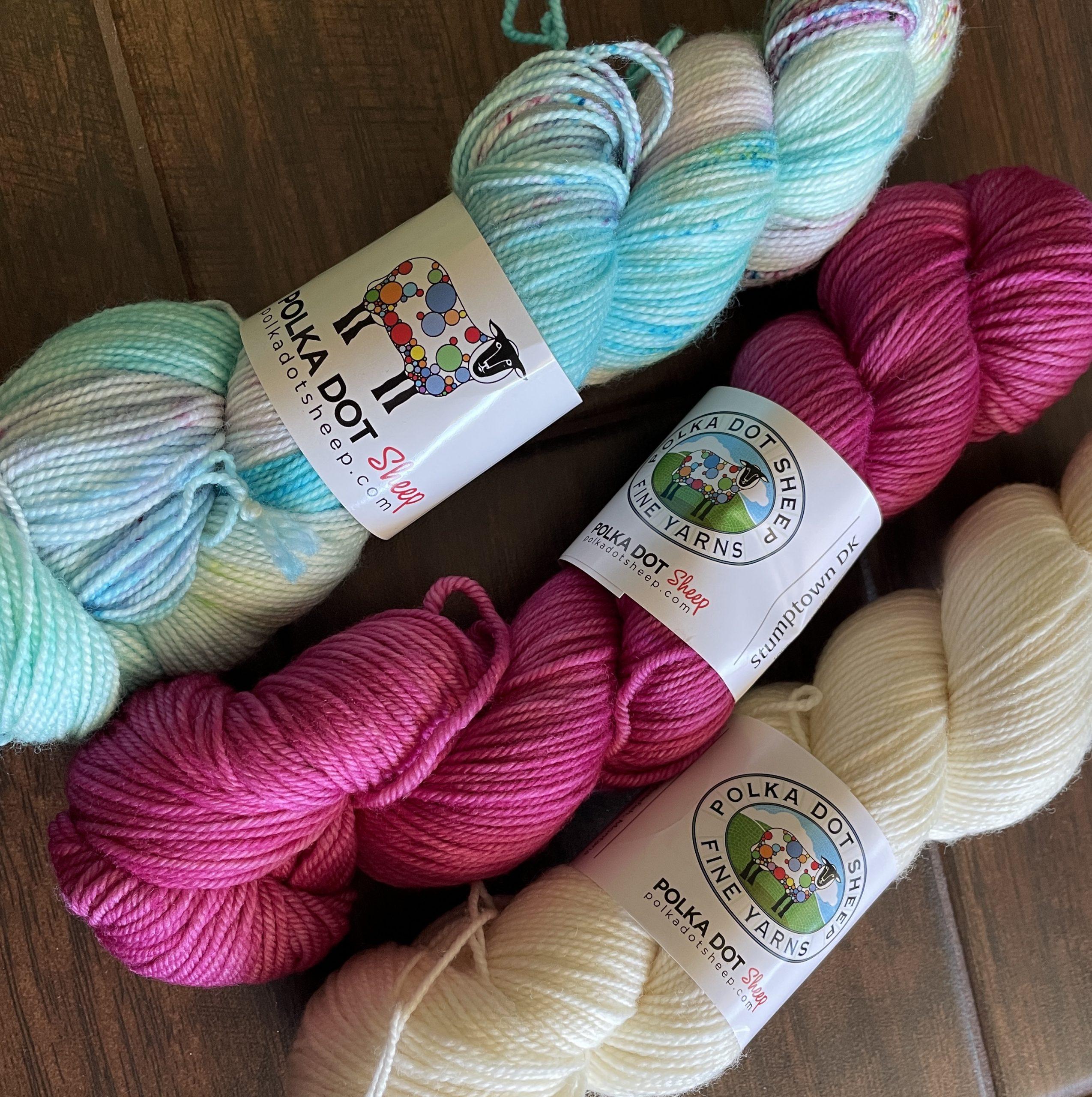 Polka Dot Sheep Yarn