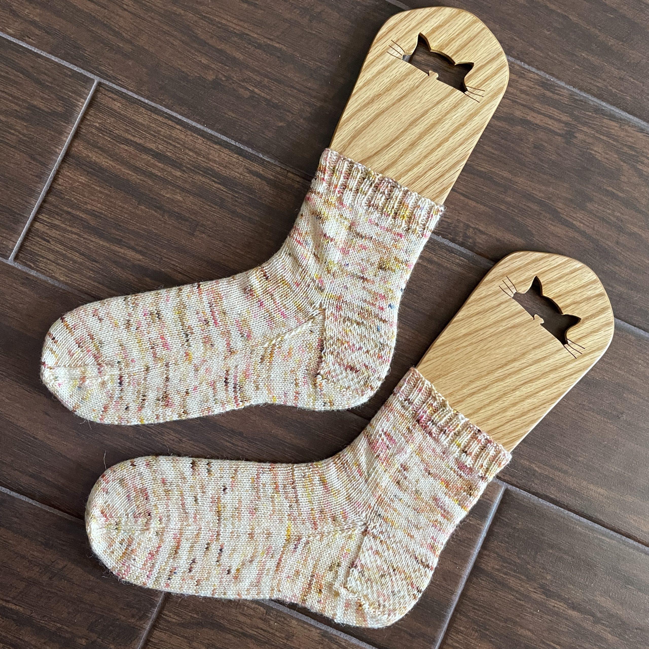 Vanilla Cupcake Socks